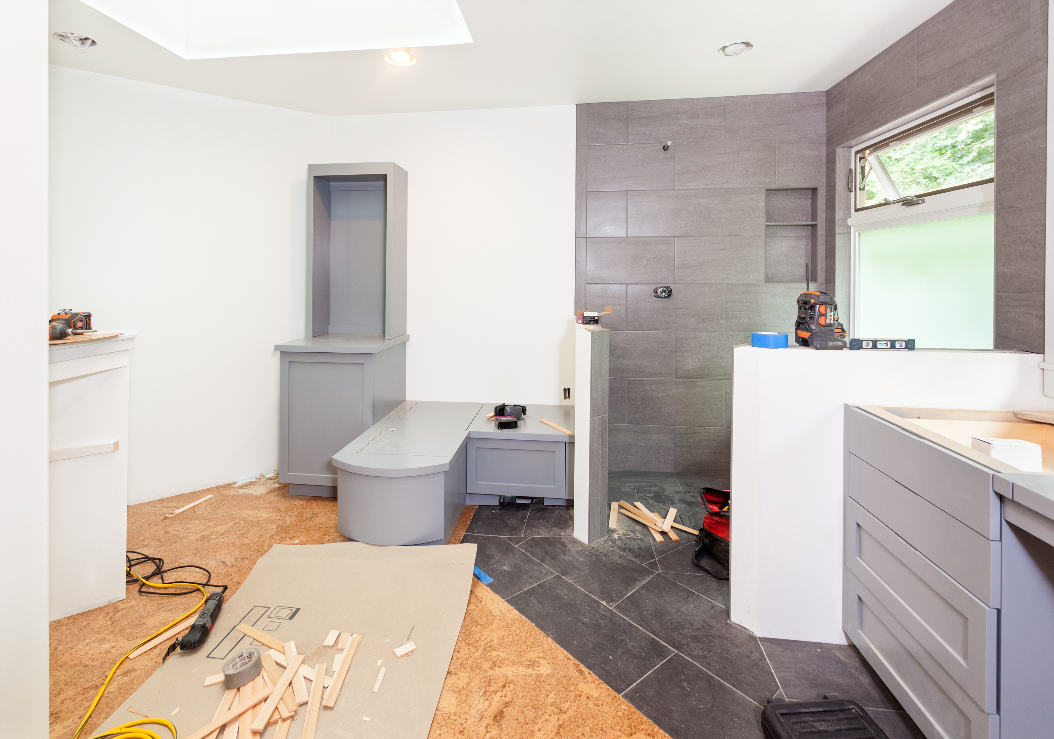 How to plan for a bathroom remodeling project charles for How to plan a remodeling project