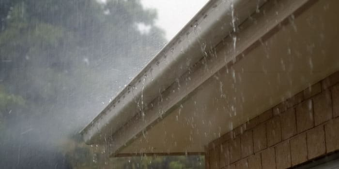 Prevent water damage during heavy rains